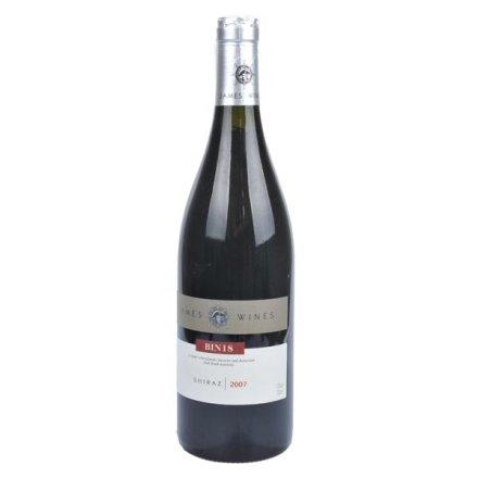 (清仓)澳洲詹姆士西拉干红葡萄酒2007