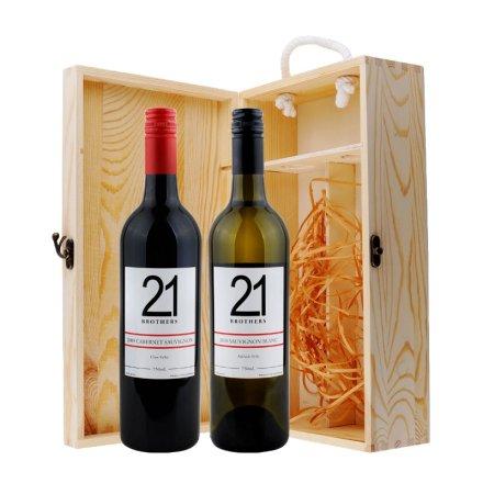 赤胆忠心澳洲红酒礼盒