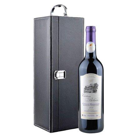 法国帕拉马城堡干红单支礼盒