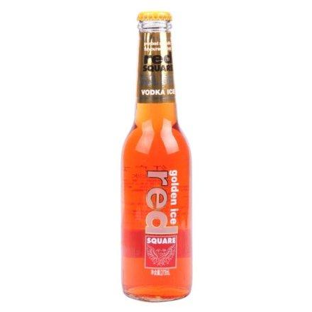 5.1°红广场金冰预调酒麦芽糖桔子味270ml