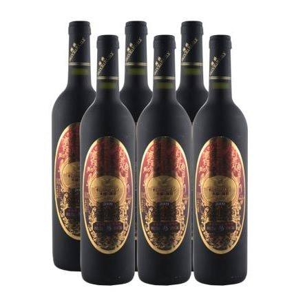 中国澜爵窖藏版赤霞珠干红葡萄酒(6瓶装)
