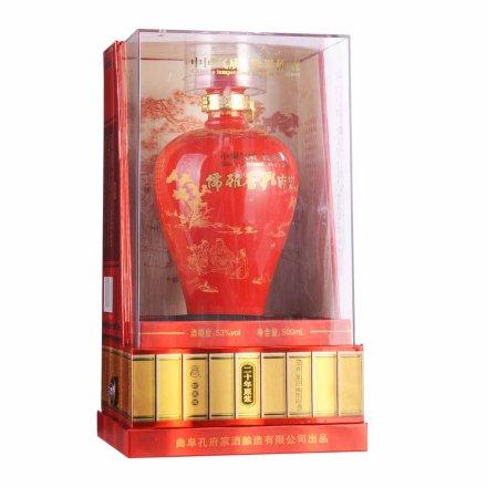 53°孔府家酒儒雅香中国红500ml
