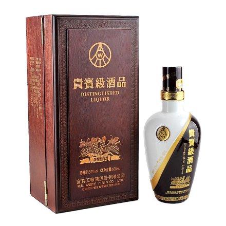 52°贵宾级酒品精品木盒装500ml