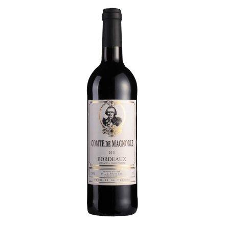 【清仓】法国马格男爵红葡萄酒AOP 750ml