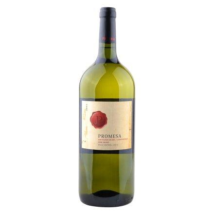【清仓】智利普罗米萨混酿长相思/霞多丽半甜白葡萄酒1500ml