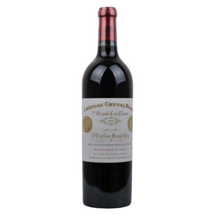 (列级庄·名庄·正牌)法国白马酒庄干红葡萄酒2004