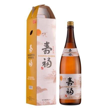 13°韩国白花寿福清酒1800ml