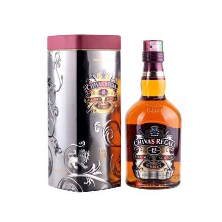 (清仓)40°芝华士12年苏格兰威士忌TIN装700ml