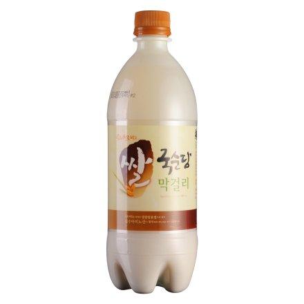 6°韩国麹醇堂碳酸玛克丽酒750ml