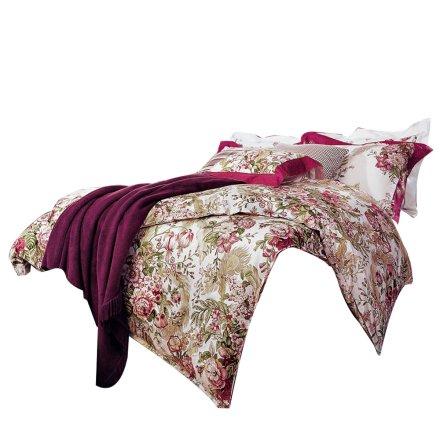 富安娜床单四件套紫色魅惑