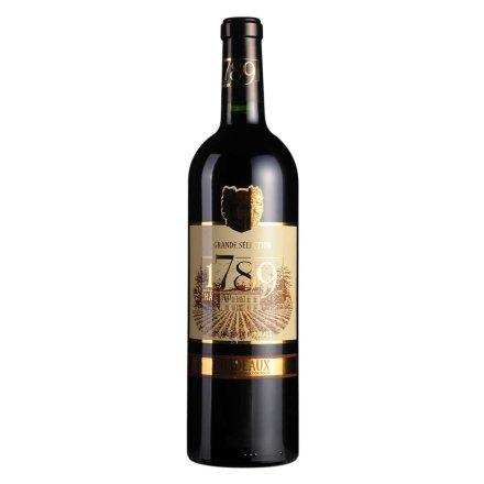 【清仓】法国1789波尔多城堡红葡萄酒