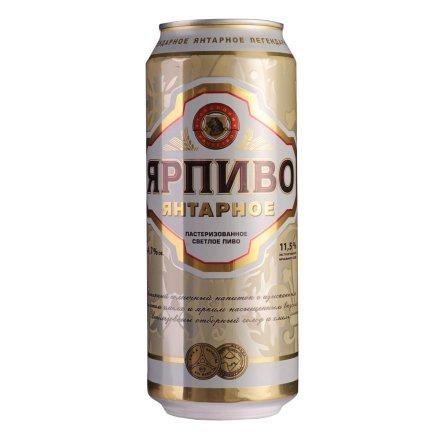 俄罗斯波罗的海琥珀雅啤500ml