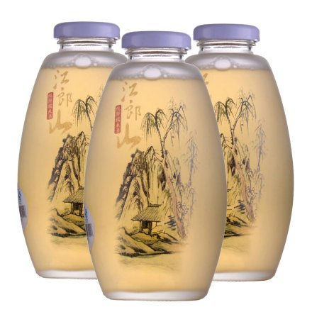8°江郎山糯米酒玻璃瓶500ml(3瓶装)