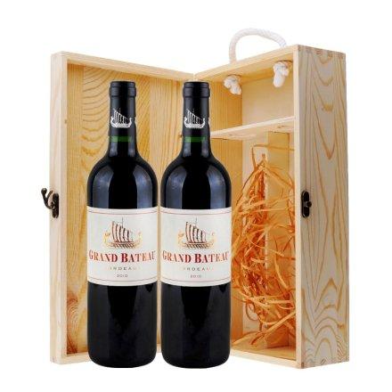 一帆风顺法国红酒礼盒