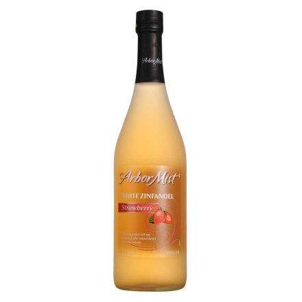 美国绿雾草莓白仙芬戴尔水果味葡萄酒750ml