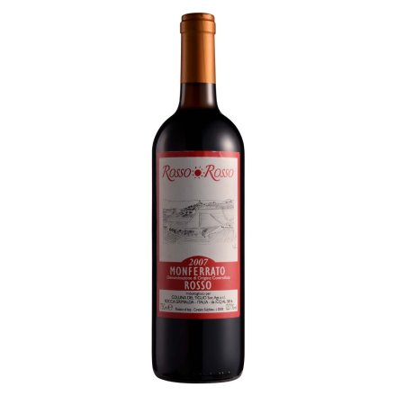 意大利红与红蒙菲拉多干红葡萄酒750ml