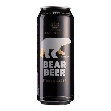 德国哈尔博黑熊啤酒500ml