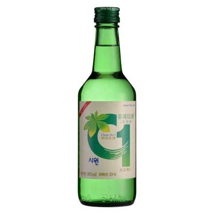 19°韩国喜闻C1烧酒360ml
