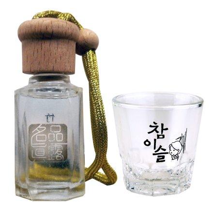 名品真露香水(促销品)+JINRO真露烧酒专用玻璃杯