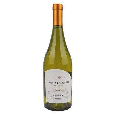 (清仓)智利圣卡罗珍藏雪当利白葡萄酒 原瓶原装进口