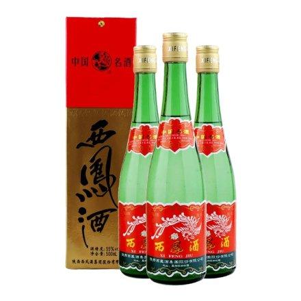 55°西凤酒绿瓶500ml(3瓶装)