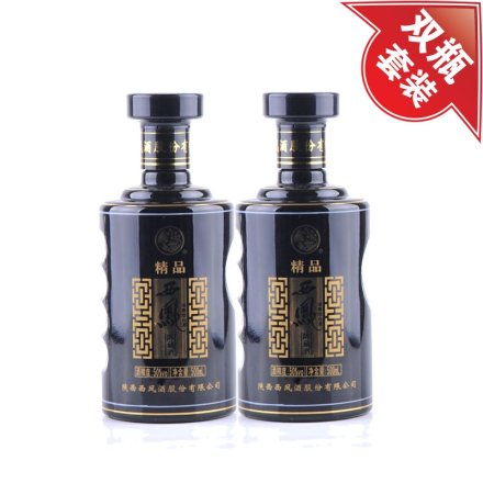 (清仓)50°西凤精品陈藏酒500ml(双瓶装)
