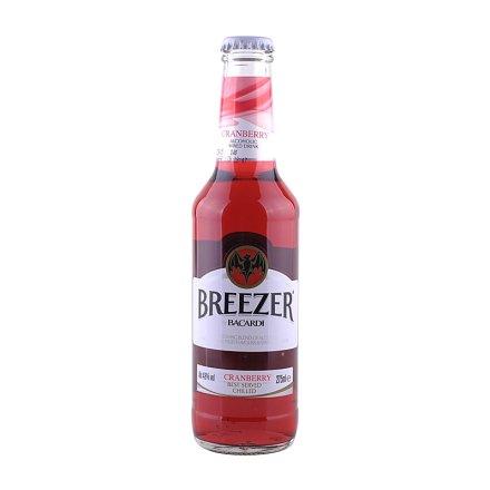 (清仓)4.8°百加得冰锐朗姆预调酒野莓味275ml