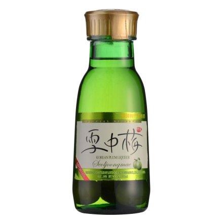 14°韩国雪中梅青梅味配制酒375ml
