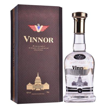【清仓】52°美国威诺(Vinnor)白酒尊贵级700ml