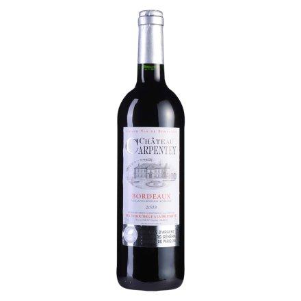 【清仓】法国卡鹏庄园2008干红葡萄酒