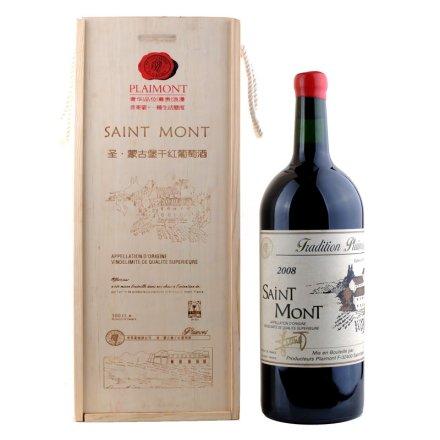 法国圣蒙干红葡萄酒3L