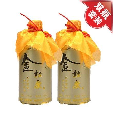 (清仓)52°白水杜康金杜康450ml(双瓶装)