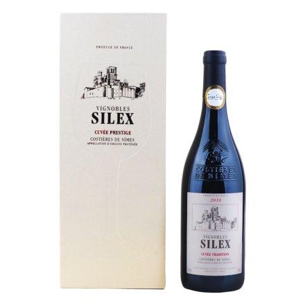 法国喜烈酒庄窖藏传统红葡萄酒礼盒
