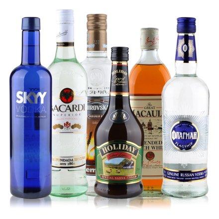六大洋酒聚会装