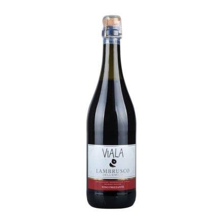 意大利绿雾蓝波斯克微泡甜红葡萄酒