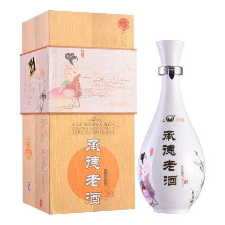 【清仓】38°承德老酒·梅兰竹菊(白瓷系列)450ml