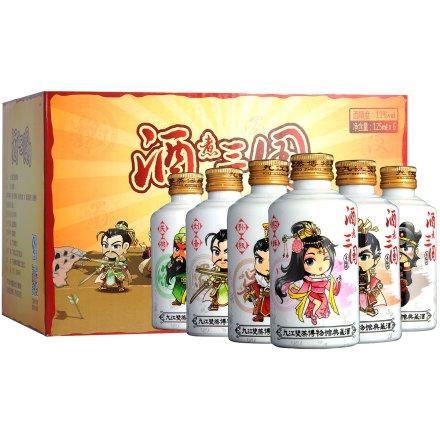 11°远航九江酒煮三国青梅酒套装125ml*6