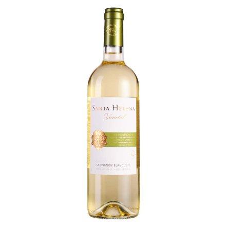 智利圣海莲娜长相思干白葡萄酒750ml