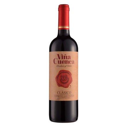 智利昆卡庄经典赤霞珠红葡萄酒750ml