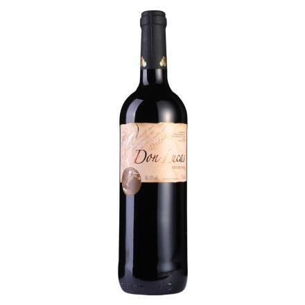 西班牙唐卢卡干红葡萄酒