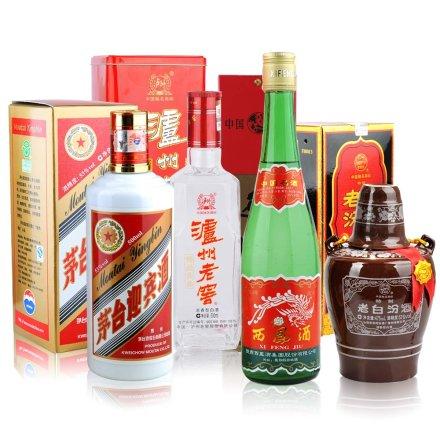 中国四大名酒精选套装