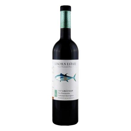 澳大利亚林肯酒庄青口鲍赤霞珠红葡萄酒