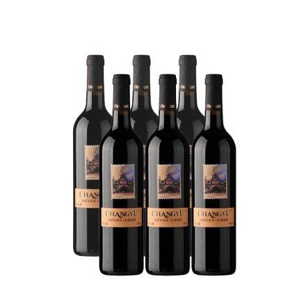 中国张裕邮票纪念版之张裕赤霞珠干红葡萄酒(6瓶装)