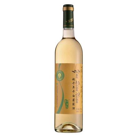 【清仓】中国越千年干白葡萄酒750ml