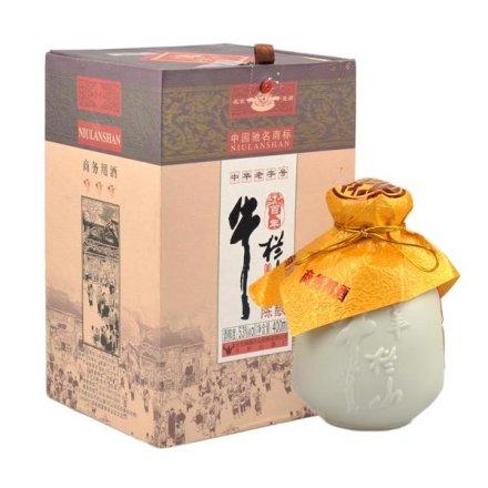 (清仓)53°百年牛栏山商务酒400ml