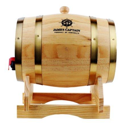 澳大利亚詹姆士船长木桶装干红葡萄酒3750ml