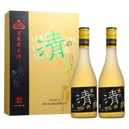 6-13°孝感米之清酒双瓶礼盒500ml*2