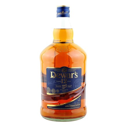 40°英国帝王12年特级苏格兰威士忌1750ml(仙露实业总经理Jackw签名版)