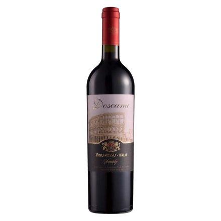 (清仓)意大利多斯卡纳半干红葡萄酒(城墙)750ml