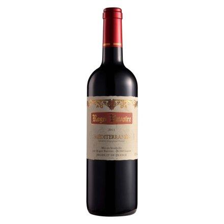 罗杰哈瓦尔地中海风干红葡萄酒750ml